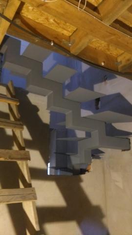 Metalinė laiptų konstrukcija